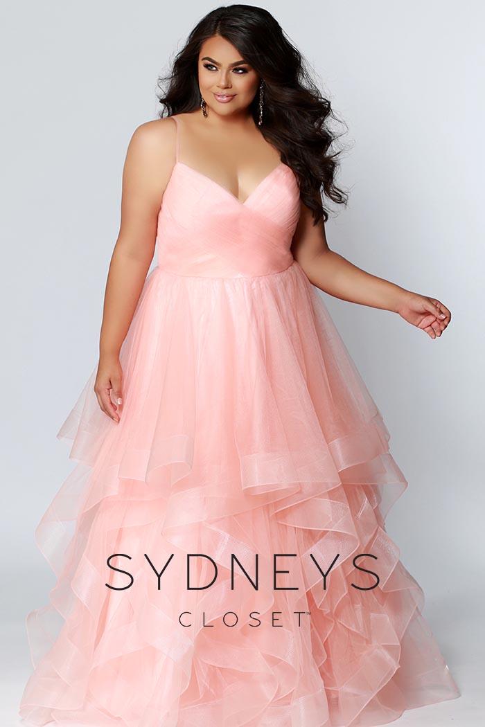 Sydneys Closet-Peach-Dress