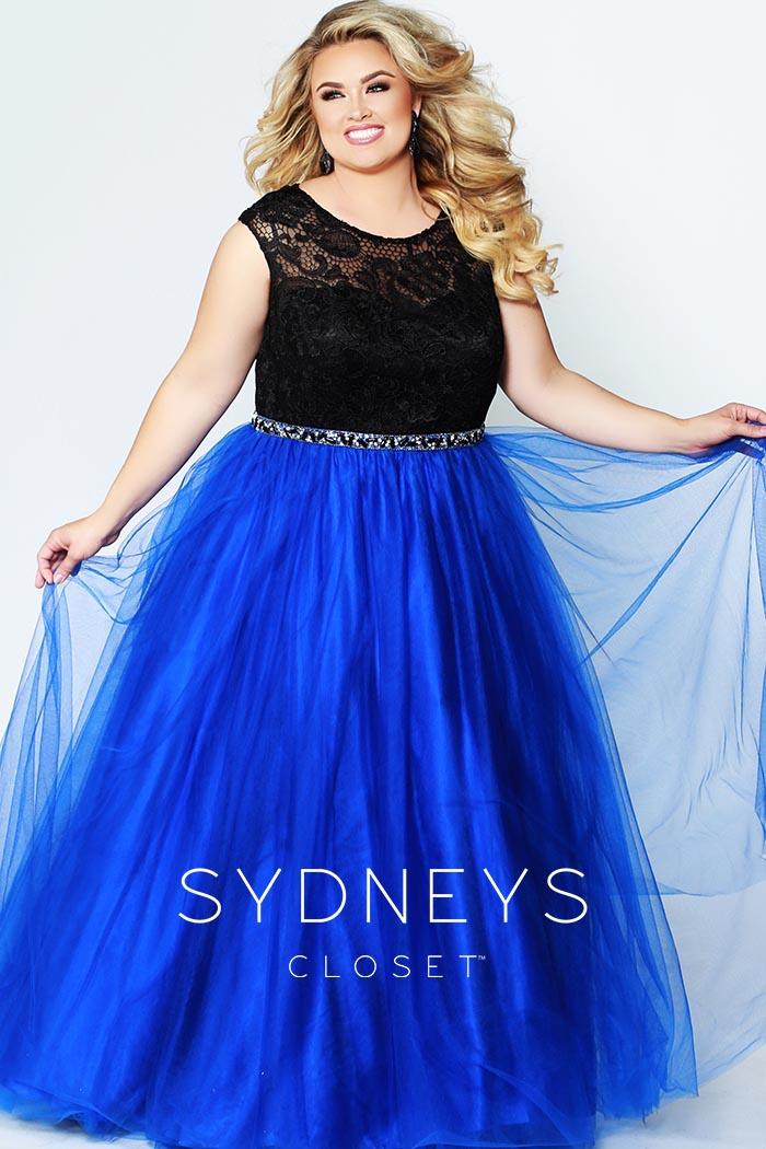 Sydneys Closet-Blue-dress