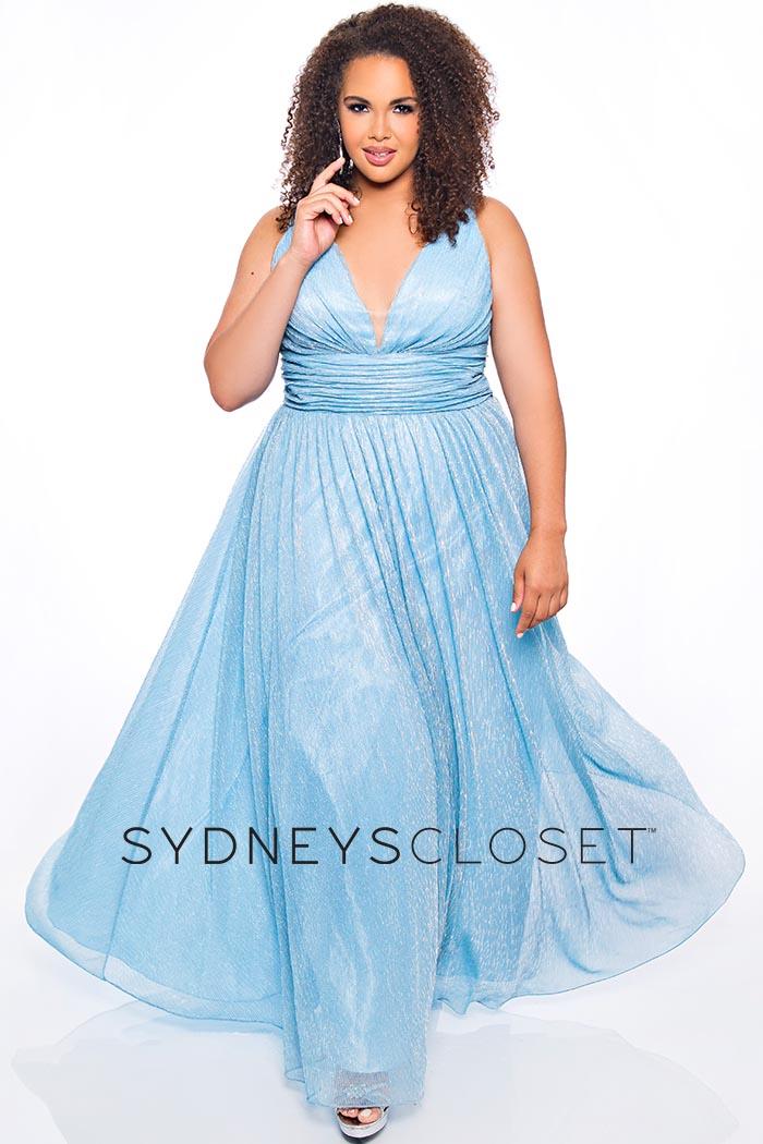 Sydneys Closet-Ice Blue-Dress